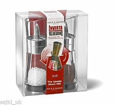 Cole & Mason 15,4 cm Inverta Flip acrilico e Chrome Salt & Pepper Mill Set Regalo