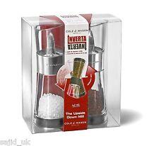 Cole & Mason 15.4cm Inverta Flip Acrylic and Chrome Salt & Pepper Mill Gift Set