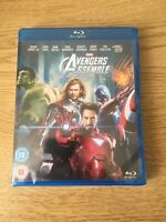 Marvel Avengers Assemble UK Bluray Region Free Brand New Sealed