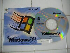 MICROSOFT WINDOWS 98 FULL RETAIL ENGLISH VERSION  MS WIN 98 =NEW=