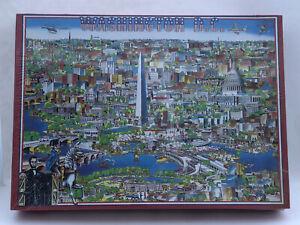 City Of Washington D.C. Buffalo Games Inc Puzzle 1988 Don Scott USA Sealed NOS