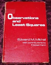 VTG Observations & Least Squares Edw. Mikhail Collectible Civil Engineering Book