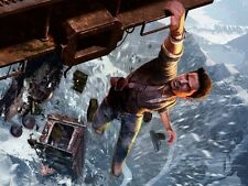 POSTER UNCHARTED 2 DRAKE'S FORTUNE IL COVO DEI LADRI PS3 GAME GIOCO XBOX 360 #2