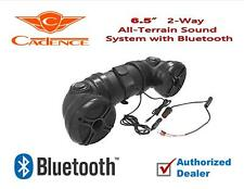 "6.5"" Speaker Bluetooth Polaris ATV/UTV/Marine Soundbar System Cadence Powered"