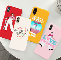 Harry Styles Fine Line Love On Tour Candy Color TPU Case For iphone 6s 7 8 XS 11