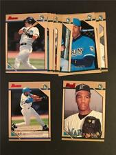 1996 Bowman Florida Marlins Team Set 12 Cards