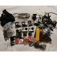 GoPro HERO4 Cameras & Accessories Lot 3 Cams 1 Black 2 Silver WiFi Camcorder