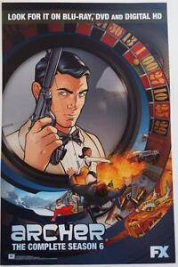 NEW ARCHER 2015 SDCC Poster 11 x 17