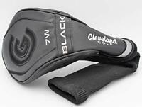 New Cleveland Black 7W Fairway Wood Golf Headcover