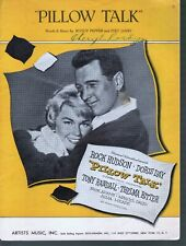 Pillow Talk 1959 Doris Day Rock Hudson Sheet Music