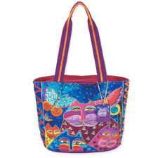 Laurel Burch - Small / Medium Tote - Cats with Butterflies - NWT