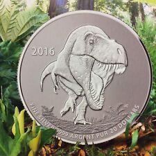 "2016 - $20.00 for $20.00 Canadian Commemorative Coin ""Tyrannosaurus Rex """