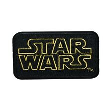 "Retro ""Star Wars"" Classic Movie Logo Iron-On Patch DIY Fan Craft Sewing Applique"