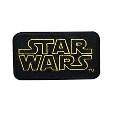 Disney Star Wars Classic Movie Logo Patch Officially Licensed Iron-On Applique
