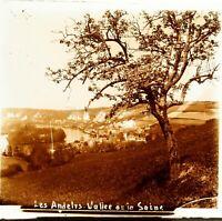 FRANCE Les Andelys Vallée de La Seine ca 1910, Photo Stereo Vintage Plaque Verre