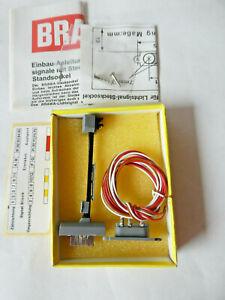 Brawa 8709 Gleissperrsignal mit OVP  (Go-165)