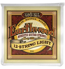 Ernie Ball 2010 - Jeu de 12 cordes guitare acoustique - Earthwood 80/20 Bronze