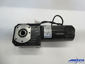 BODINE ELECTRIC CO MODEL 7062 33A-GB/H SERIES DC RIGHT ANGLE HOLLOW SHAFT