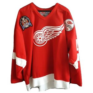 Vladimir Konstantinov #16 Detroit Red Wings 1997 Stanley Cup Jersey XXL Patches