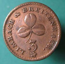 Old Rare Deutsche token - Limbach&Breitenbach 3 heller - (1788) -mehr am ebay.pl