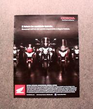 [GCG] I570 - Advertising Pubblicità - HONDA NC700X , VFR1200F , INTEGRA