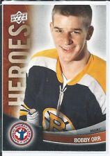 Bobby Orr  2012 Upper Deck  #12  National Hockey Card Day -  Heroes