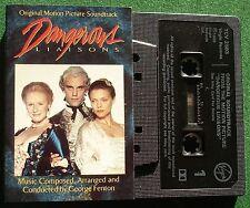 Dangerous Liaisons OST George Fenton Cassette Tape - TESTED