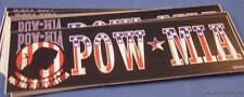 WHOLESALE LOT OF 25 PoW MIA u.s. a. BUMPER STICKERS MaDE IN USA military army