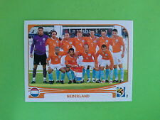 FIGURINE PANINI WORLD CUP SOUTH AFRICA 2010 - N.334 TEAM NEDERLAND