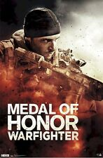 MEDAL OF HONOR Poster  - Warfighter Full Size Print ~ Video Game Poster
