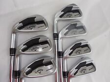 New LH Callaway Apex Forged Iron Set 4-PW TT XP 95 s300 Stiff flex Steel Irons