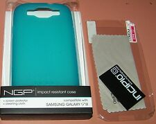 Incipio NGP case for Samsung Galaxy S III, Translucent Turquoise Matte Finish