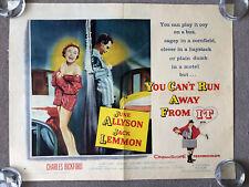 You Can't Run Away From It (1956) Original US Half Sheet Cinema Poster