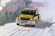 Jean Ragnotti Renault 5 Turbo Winner Monte Carlo Rally 1981 Photograph 7