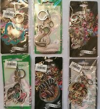 Gift pack of 6 New ED HARDY keychains