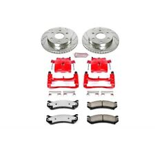 Powerstop KC2009-36-Truck And Tow Z36 Brake Pad, Rotor And Caliper Kit-Front