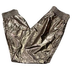 Victorias Secret Sport Gold Cargo Ankle Jogger Pants Size XS
