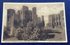 POSTCARD: LEICESTERS BUILDINGS AND KEEP FROM SOUTH: KENILWORTH: UN POSTED