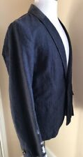 NWT $445 Boss Hugo Boss Borvette_R-W Modern Jacket Blazer Dark Blue 38R US