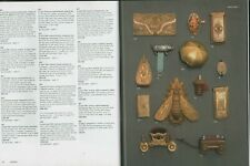 More details for sewing bonhams 2001 knitting antiques thimbles buttons pincushions hl1.1449