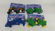 8 Pack Lot Bath Time Animal Suction Cup Toy Fish Turtle Frog Blue Whale
