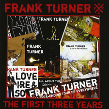 Frank Turner-the First Three Years-japan CD E51