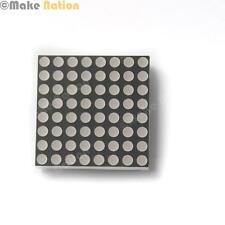 8x8 RED LED Matrix - Common Anode - For use with Arduino, Colorduino , and more