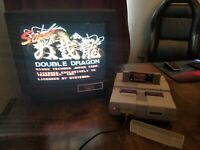 Super Double Dragon 1991 Super Nintendo SNES Game Cart Tested Working Authentic