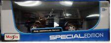 2014 Jeep Wrangler Sahara SUV Truck Die-cast Car 1:18 Maisto 9 inches Black