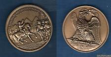 """Médaille Napoléon Ier """" Napoléon En Egypte """" 1807 Bronze Aigle"""