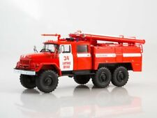 Scale model truck 1:43 ZIL-131 AC-40-137 fire