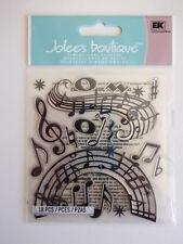 Jolee'S BOUTIQUE Pegatinas 3D-Notas musicales