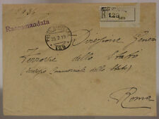 POSTA MILITARE 129 RACCOMANDATA 25.2.1919 TIMBRO 217° REGG.to FANTERIA #XP469C