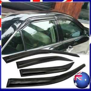 AUS Weathershields Weather Shield for Toyota Camry 12-15 2016 2017 Window Visors